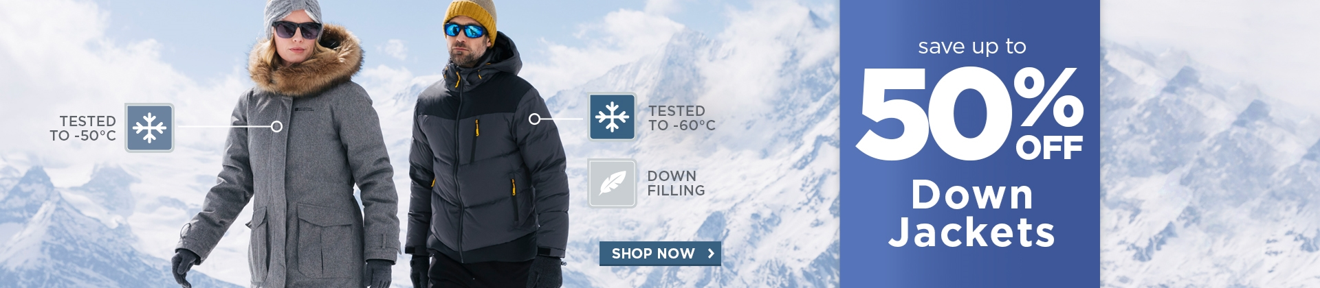 H1: Down Jackets