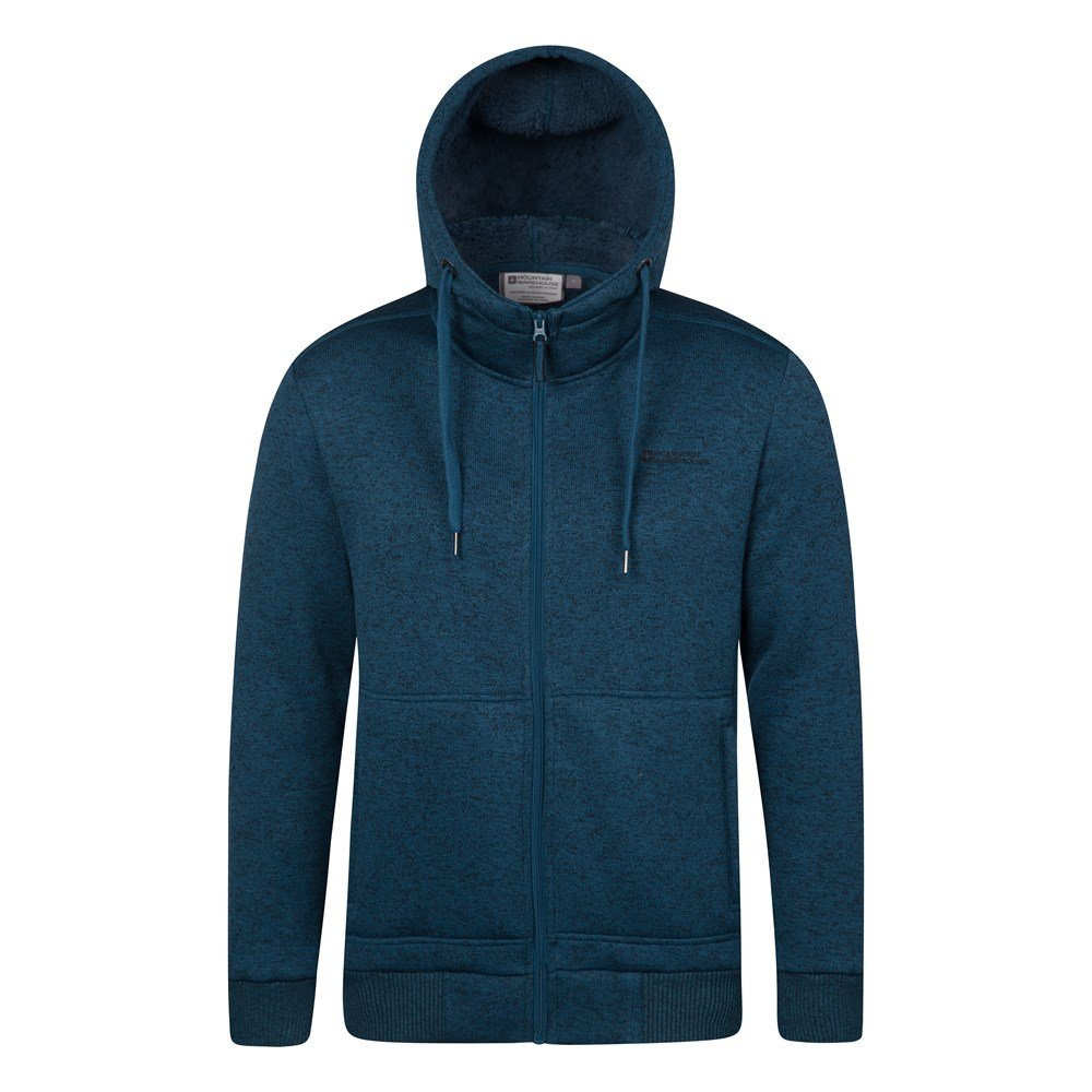Hoodie with fur lining