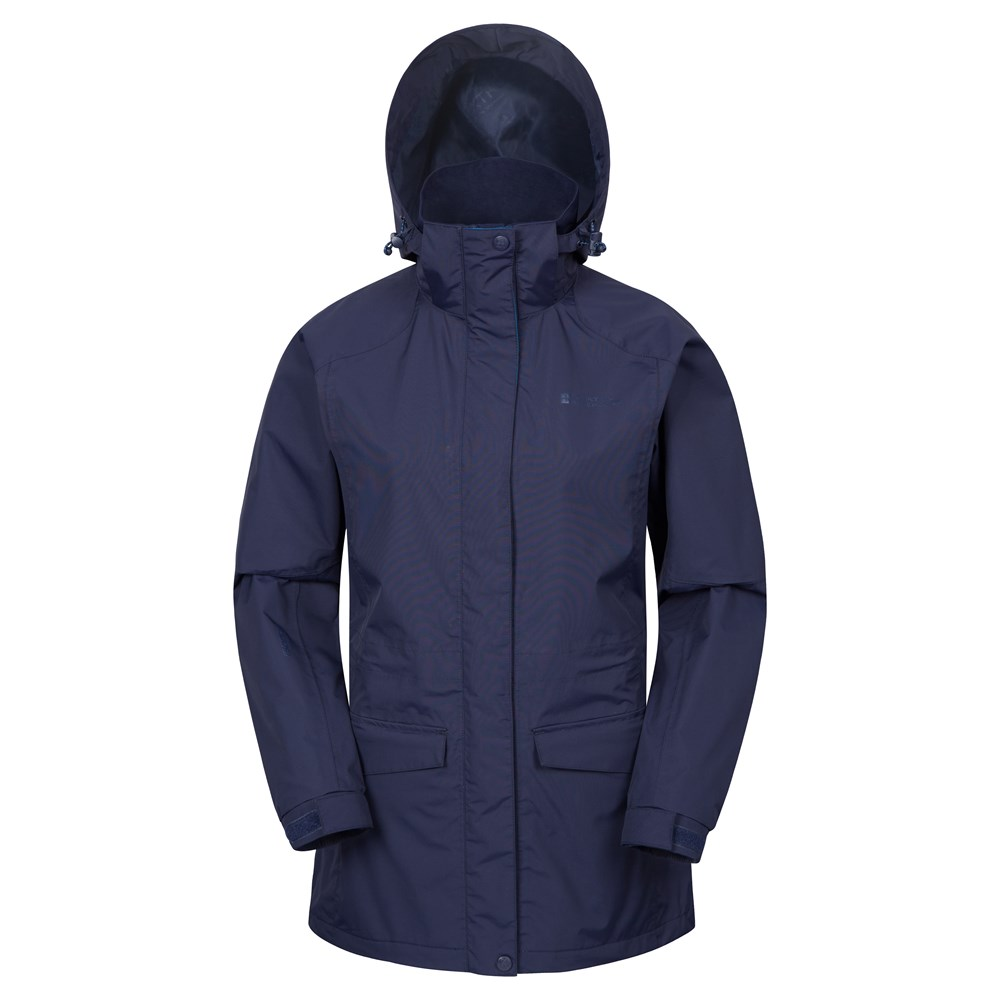 Waterproof rain jacket for women